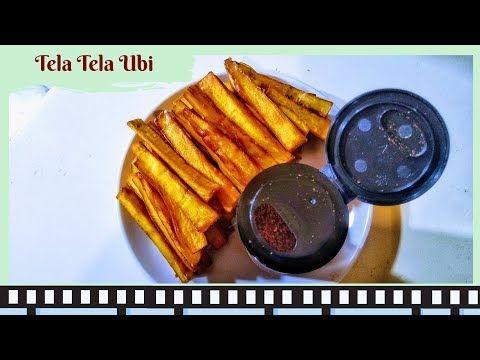 Membuat Tela Tela Ubi Jajanan Simpel Cepat Buatnya Youtube Makanan Resep Ubi