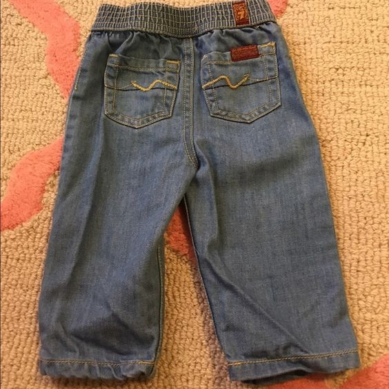 Baby 7 For All Mankind jeans 6-9 months These jeans are so ...