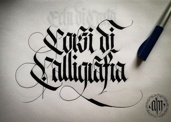 Calligraphy, Lettering and Behance on Pinterest