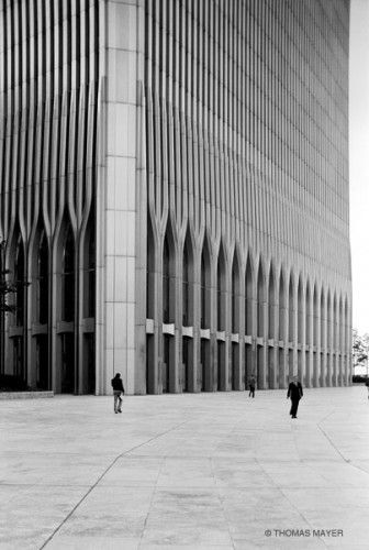 World Trade Center New York 1978 Thomas Mayer