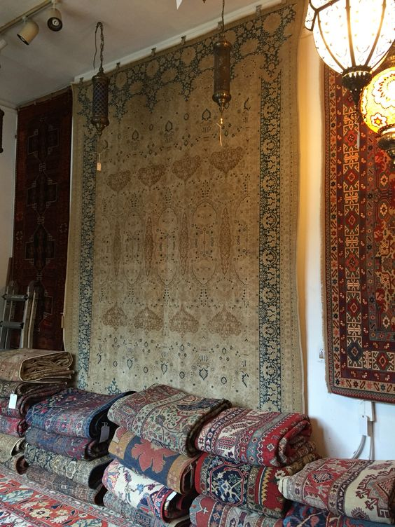 Piles and piles of rugs