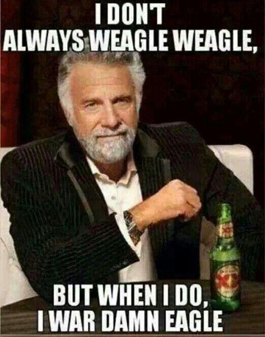 Weagle Weagle War Damn Eagle