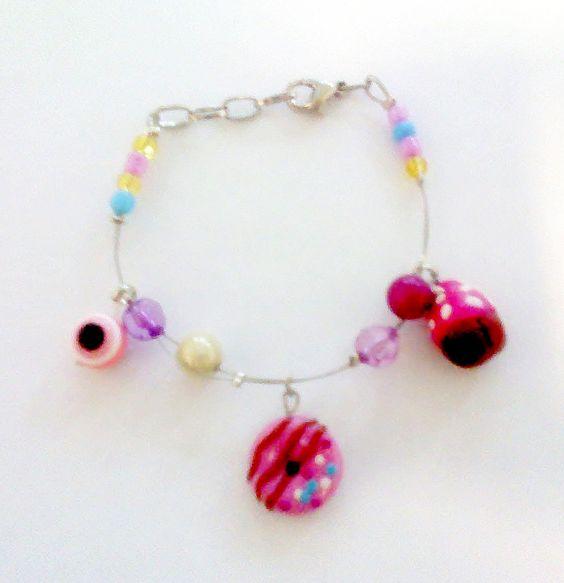 handmade fimo bracelet