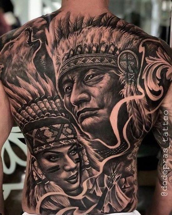 65 Stunning 3d Full Back Tattoo For Man Tattoosformen Back