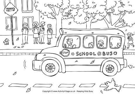 Llega el autobús
