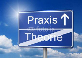 Praxis Theorie Schild