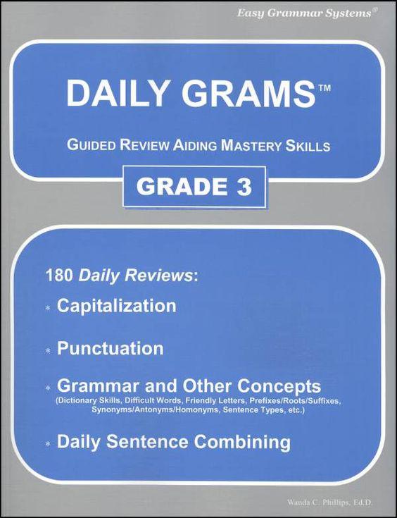 Daily Grams Grade 3