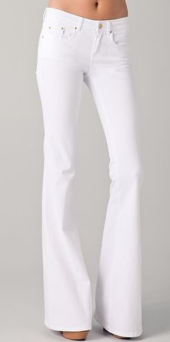 Rachel Zoe White flare jeans- bought them and love them! my fav ...