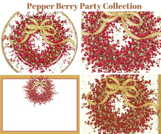 Pepper Berry Party Collection