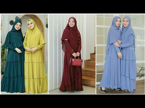 26 Model Baju Gamis Syari Original Branded Terbaru 2020 Harga Terjangkau Youtube Model Pakaian Model Wanita