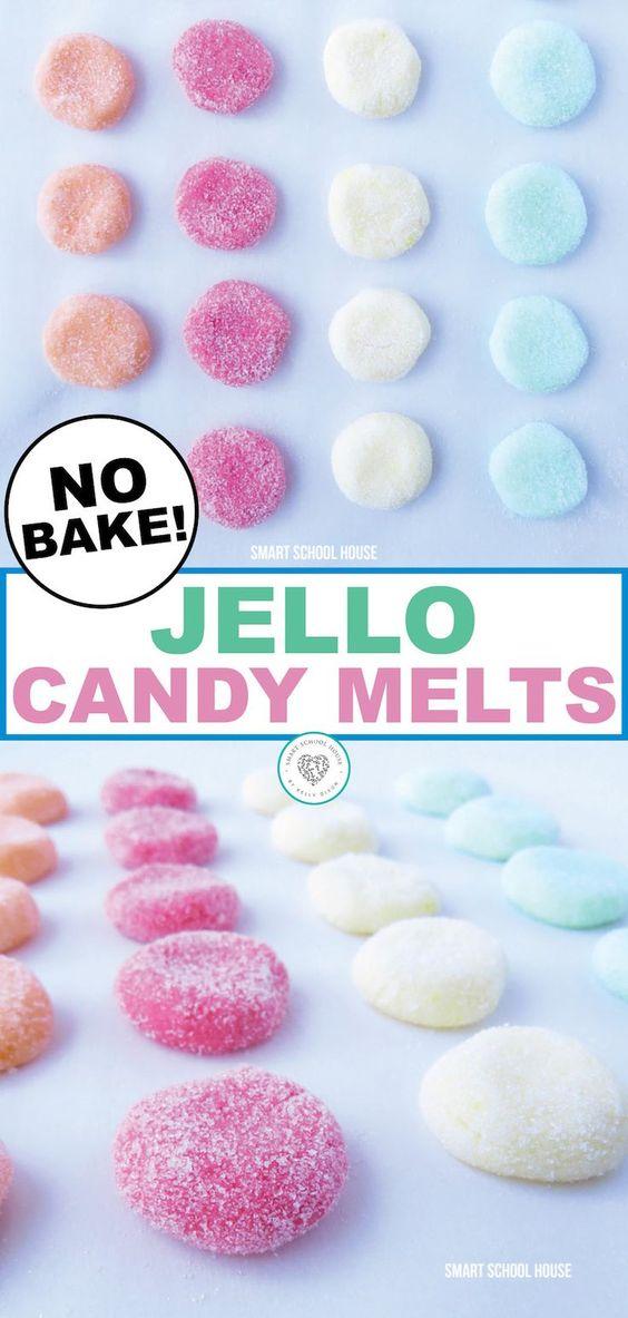 No-Bake Jello Candy Melts