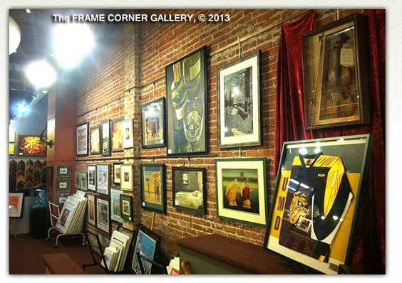 The Walker Picture Hanging System Used By The Frame Corner Gallery In Duluth Minnesota