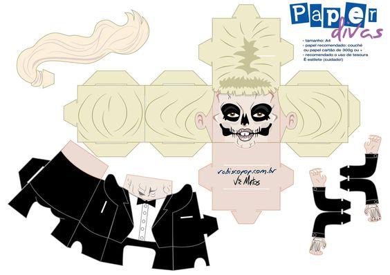 #ladygaga #gaga #papaerdoll #paperdivas #bornthisway
