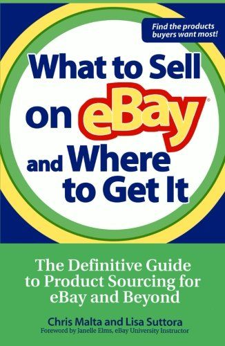 We see a lot of ebay sellers at http://labelszoo.co.uk so we're always looking for tips to help them with their business  What to Sell on eBay and Where to Get It: The Definitive Guide to Product Sourcing for eBay and Beyond