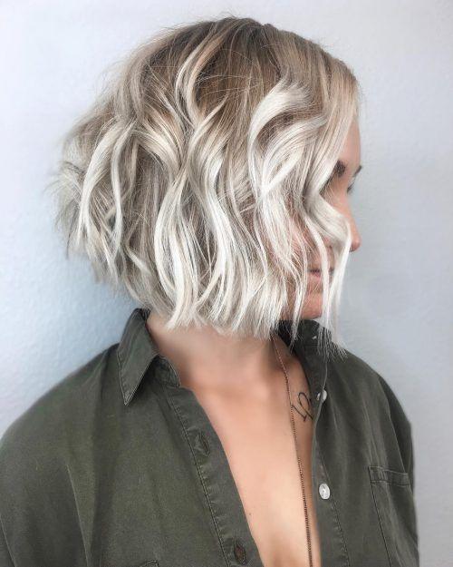 Balayage For Short Hair 28 Stunning Hair Color Ideas Short Hair Balayage Balayage Hair Blonde Short Platinum Blonde Balayage