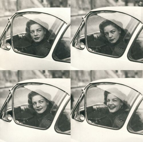 Lauren Bacall...adorable!