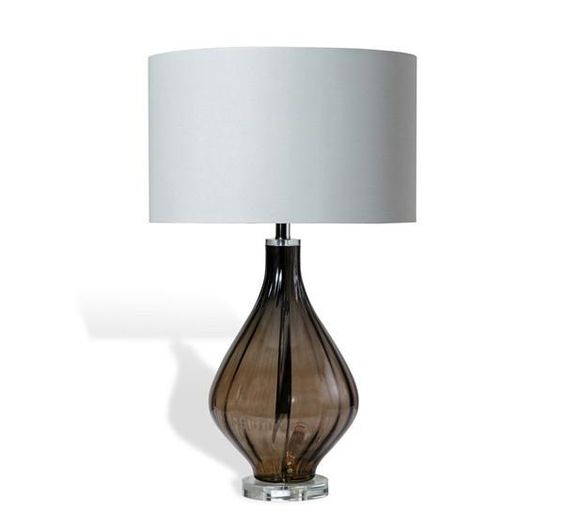 Clearance Elise 31 H Table Lamp Dark Gray Grey Table Lamps
