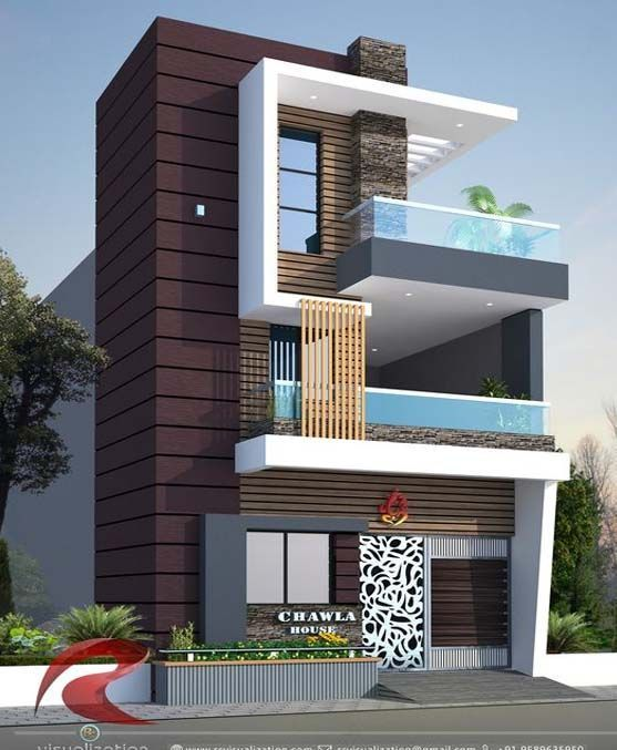 Modern Home Design Ideas Small House Elevation Design Duplex House Design House Front Design