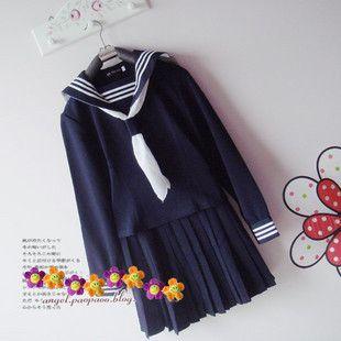 Japanese Japan School Girl Uniform Cosplay Costume NEW | eBay