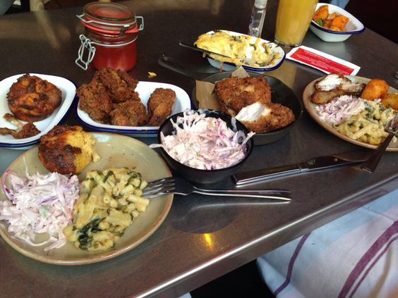 Joe's Southern Kitchen. Covent Garden, London. Comforting Soul Food