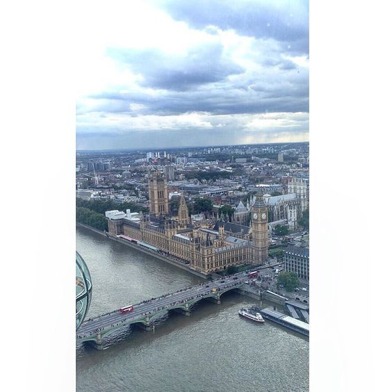 By jadehannah_xo: Photo I got of the view from London eye  #nature #sky #photo #londoneye #landscape #photographer #scenery #england #landscape #contratahotel