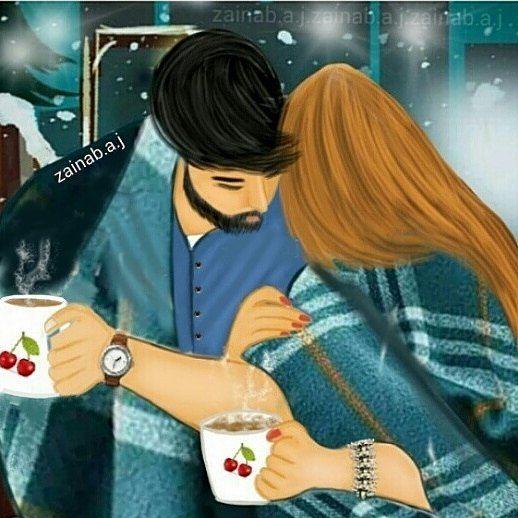 والله برد كثييير انا بالشغل واكيد انت احلى من كل اشي بحبك يا دبدوبتي Cute Love Images Cute Love Cartoons Cute Couple Comics