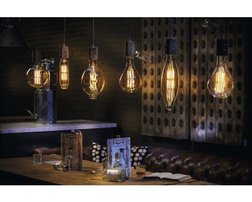 Calex Led Filament Lamp Colosseum E40 11w Dimbaar Amber