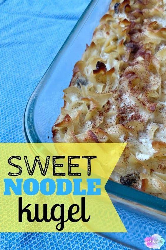Sweet Noodle Kugel