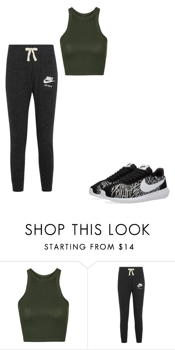 """""""Untitled #194"""" by emily4everguru on Polyvore featuring Topshop and NIKE"""