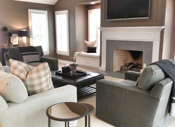 Bachelor Pads Living Rooms And Neutral Colors On Pinterest