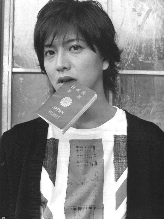 パスポートを加える木村拓也
