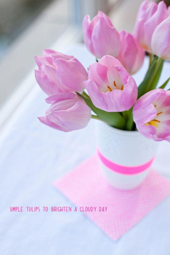 such a pretty color of tulip :-)