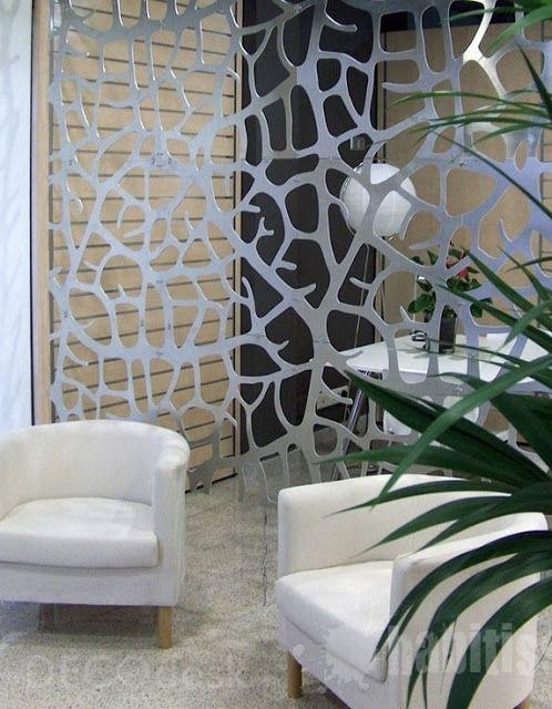 Ideas para separar ambientes sin la necesidad de paredes - Estanterias para separar ambientes ...