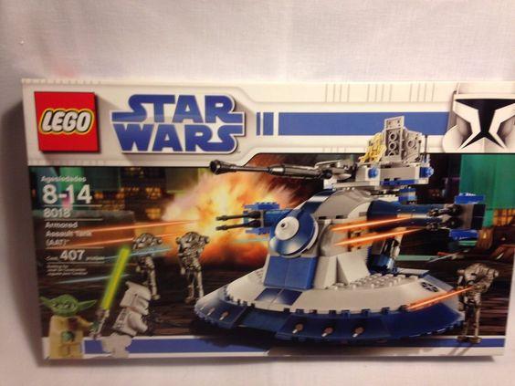 Lego 8018 Star Wars Armored Assault Tank AAT Battle Droids Yoda Factory Sealed #LEGO