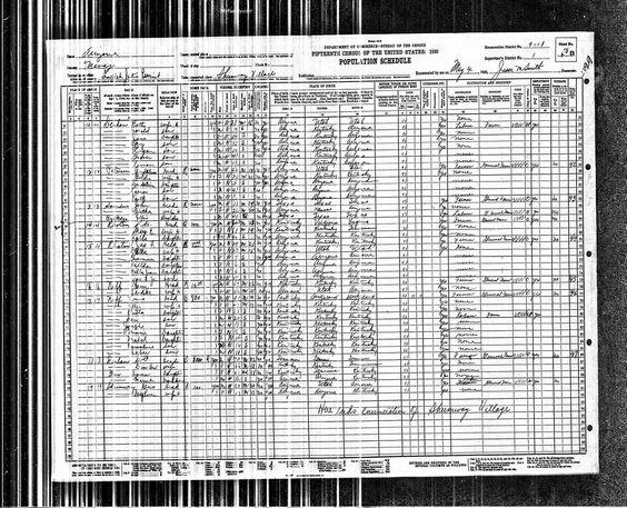 1930 Franklin Parish Denham United States Federal Census taken in Shumway, Arizona.