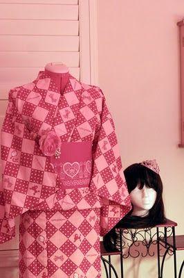 Sweet Lolita Yukata by Metamorphose