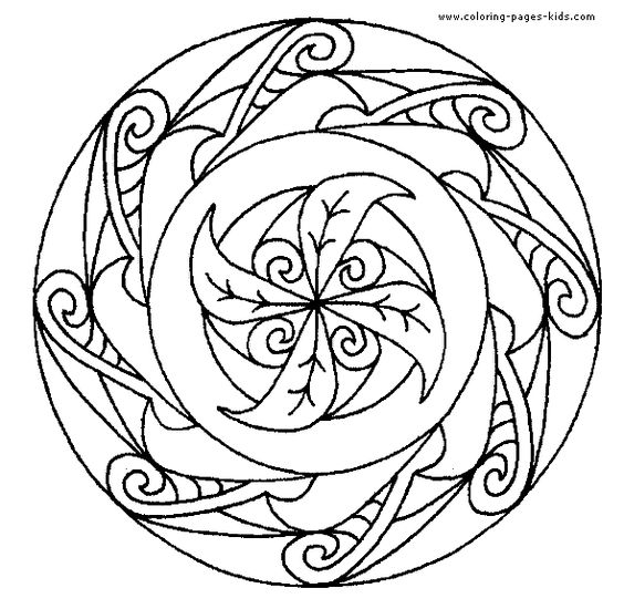 Mandala Coloring Pages Kids Coloring Coloring Pages