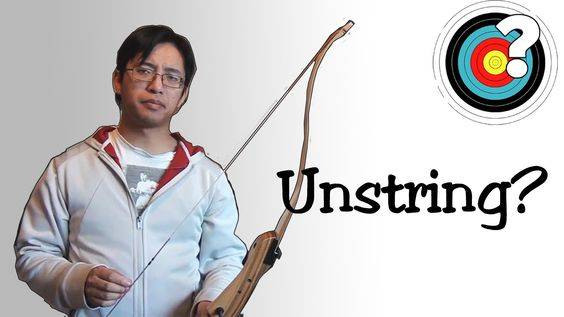 Archery - Should I Unstring My Bow?