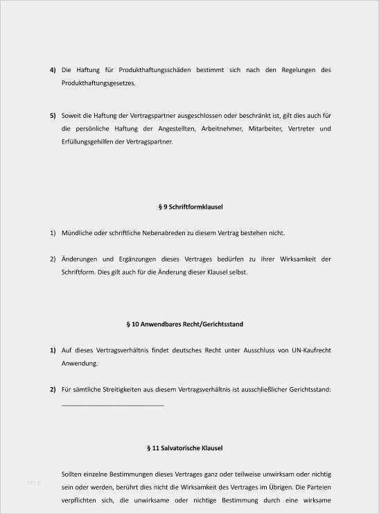 Software Mietvertrag Vorlage Sofort Zum Download 8