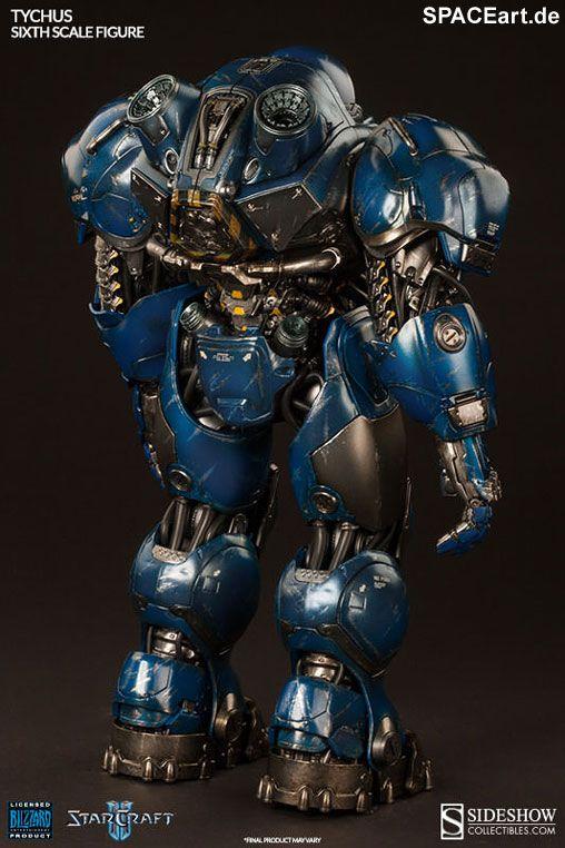 StarCraft: Terran Space Marine Tychus, Voll bewegliche Deluxe-Figur ... http://spaceart.de/produkte/stc002.php