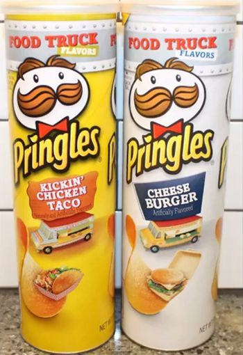 Pringles has new cheeseburger flavored: