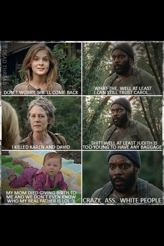 The walking dead funny