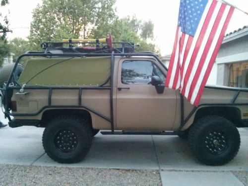 Find Used 1986 Chevy K5 Blazer Custom 4x4 Ls1 A C Lifted 37 Run Flat Tires In In 2020 Run Flat Tire K5 Blazer Chevy