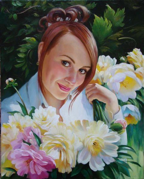 Харченко Иван Портрет девушки
