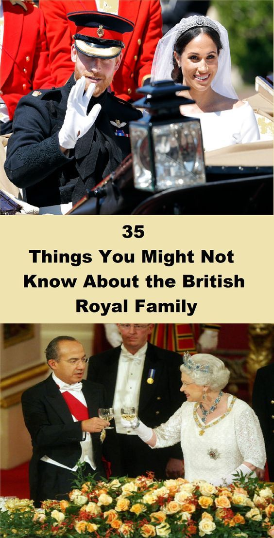 35 Things You Might Not Know About The British Royal Family Celebrity News Gossip British Royal Family Celebrity Gossip