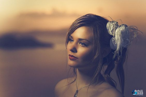 Bride portrait by Achill Geo on 500px