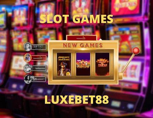 Online Casino Slot Games - LuxeBet88 | Gambling sites, Online casino slots, Online  gambling