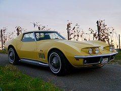 Corvette, Oldtimer, Historisch