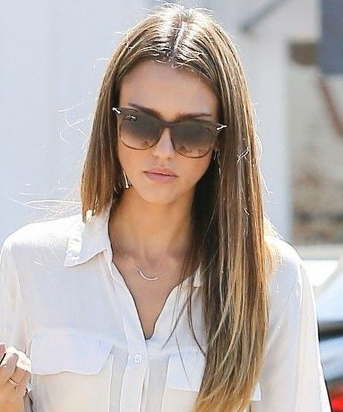 Simple But Cute Long Hairstyles 2019 For Women Jessica Alba