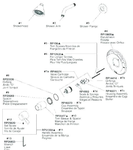 Delta Shower Faucet Repair Diagram Di 2020 Dengan Gambar